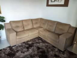 Vendo sofá de canto  super conservado