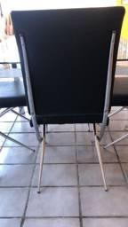 Mesa de inox /4 cadeira .