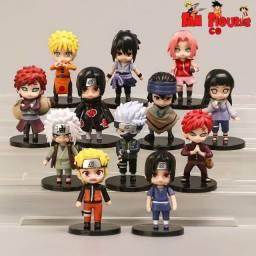 Anime Naruto Action figures - miniaturas colecionáveis