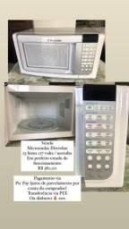 Vendo microondas eletrolux