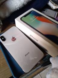 VENDO IPHONE X 64GB SEMI NOVO FACE OFF Bateria 84%