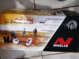 Minelab gold monster 1000 piu piu detector de metal metais