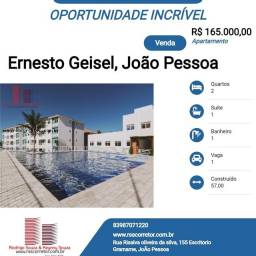 Título do anúncio: Apartamento para Venda em João Pessoa, Ernesto Geisel, 2 dormitórios, 1 suíte, 1 banheiro,
