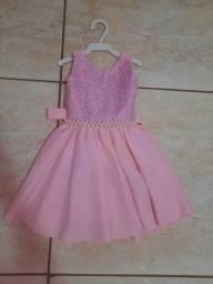 Vestido de festa infantil 1ano