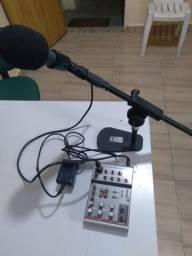 Kit para sua live E rádio web