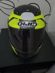 Capacete HJC CS-15 Faren Verde Fluorescente