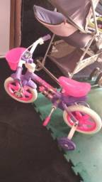 Linda bicicleta infantil aro 12 nova