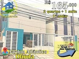 Jardim Atlântico - 165 mil - 1º andar 2qts + 1 suíte