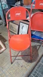 Cadeiras antigas da CocaCola