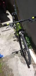 Bicicleta aro 29. Verde floresc..Nota fiscal.