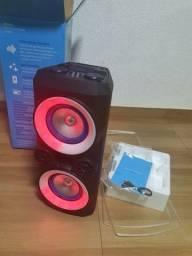 Caixa acustica Bluetooth Torre 300 RMS Nova! 419