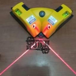 Esquadro a laser 90 graus, ângulo reto