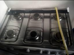 VENDO fogão Esmaltec 6 bocas e Microondas Eletrolux 110W