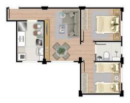 Apartamento à venda, 2 quartos, 1 vaga, Engenho Nogueira - Belo Horizonte/MG