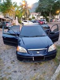 Vendo ou troco Honda Civic 2001 motor 1.7 16V