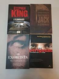 4 livros em excelente estado