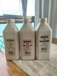 Tintas corantes Kora para cartuchos de impressora (1L)