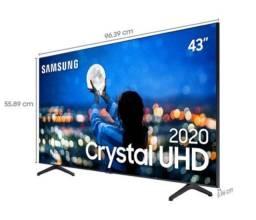 """Smartv Samsung Crystal 43"""" 4k *NOVA*"""