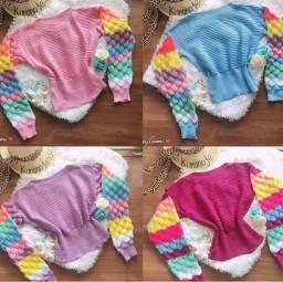Blusa de lã Tricot