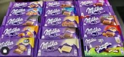 Chocolate Milka - Diversos Sabores