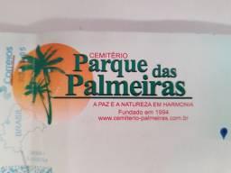 Sepultura no Parque das Palmeiras R$1.800,00 Reais