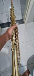 Sax Soprano Eagle dourado