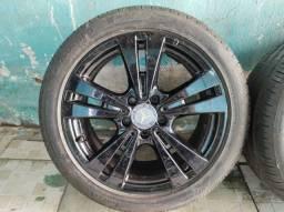 Jogo de rodas de Mercedes  A200