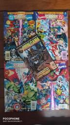 HQ's especiais Marvel e DC