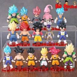 Anime Dragon Ball Z Action figures - miniaturas colecionáveis