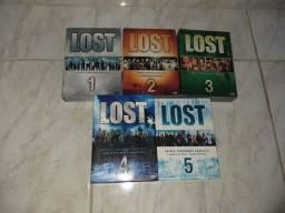 Série LOST (dvd) 1 ao 5 !
