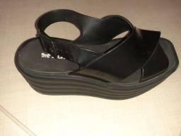 Sandália,melissa e sapatilha