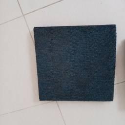 Carpetes em placas 48x48 - 5 unidades