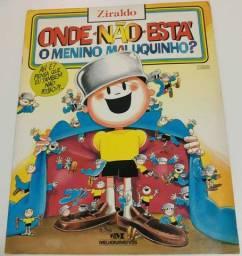 Livro onde está o menino maluquinho
