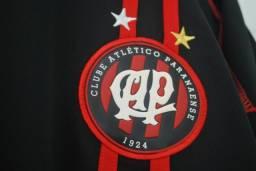 Camisa Athletico Paranaense 80 Anos Preta 2004 Cap Tamanho G