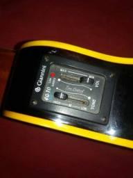 Vendo cavaquinho elétrico Giannini modelo GCSE 350 reais