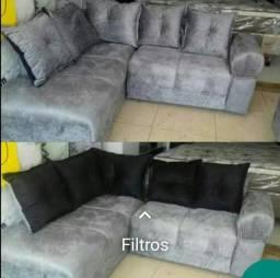 Sofa de canto novo da fabrica