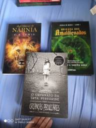 Kit 3 livros fantasia