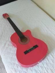 Violão rosa