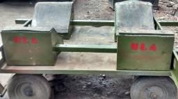 Berços metálicos para transporte de bobinas - (Locação)