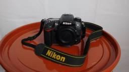 Câmera fotográfica D7000 + Lente 50mm