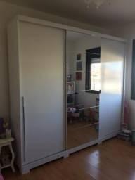 Guarda roupas casal 3 portas