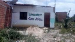 Terreno com casa semi construida