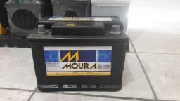 Bateria Moura 60ah seminova 6 meses garantia
