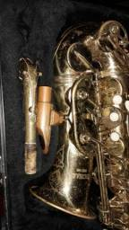 Sax alto michael com boquilia de aço A7 zap 993144640