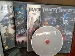 Transformers 4dvds Originais,perfeitos,