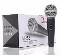 Microfone M 58 com fio!) entrega grátis