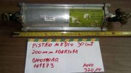 Cilindro Autuador Pneumático med. Ônibus Marcopolo