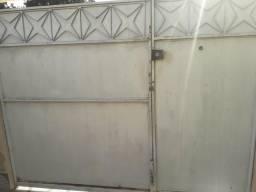 Portão de garagem com 2,55x1,95
