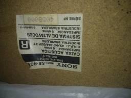 Caixa de som marca sony