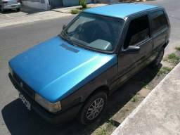 Uno 2002 Azul - Motor Fire 1.0 - 2002